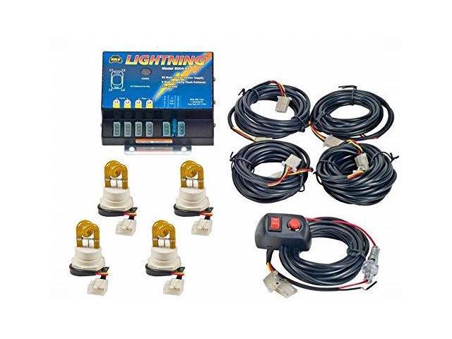 Wolo 80043Aaaa Lightning 3 Strobe Kit