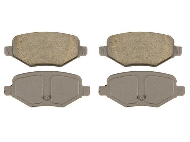 Wagner Qc1377 Disc Brake Pad - Thermoquiet, Rear