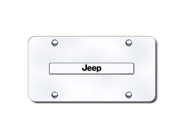 Auto Gold Jeencc Jeep Name Chr/Chr Plate