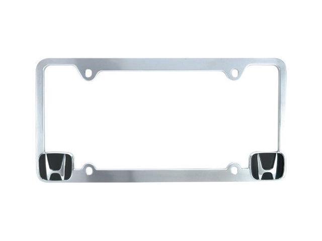Bully Wl051-C Honda License Plate Frame - Chrome