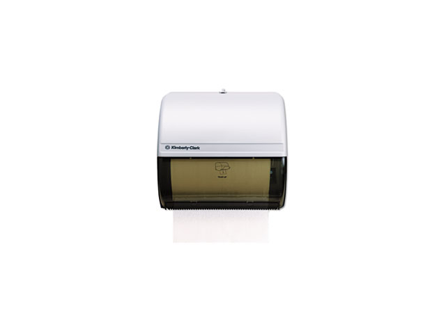 In-Sight Omni Roll Towel Dispenser, 10 1/2 X 10 X 10, Smoke/Gray