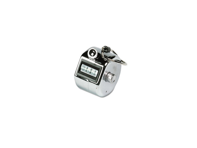 Officemate 66222 International Tally Counter, Semi-Automatic, Aluminum