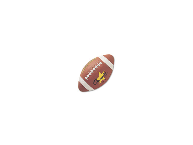 Champion Sports Rubber Sports Ball, For Football, Intermediate Size, Brown