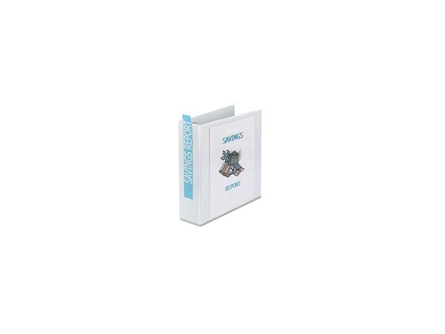 Avery Consumer Products AVE19751 Showcase View Binder- 3in. Capacity- 11in.x8-.50in.- White