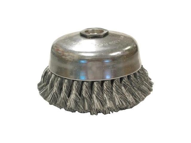 "Us4 .014X4""X1-1/4"" Cup Brush Carbon Sing"