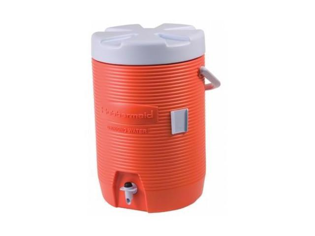 Rubbermaid Commercial 325-1683-01-11 3 Gal Water Cooler Orange