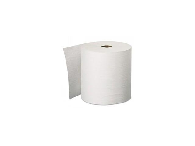 "KLEENEX Hard Roll Towels, 8"" x 600', White"