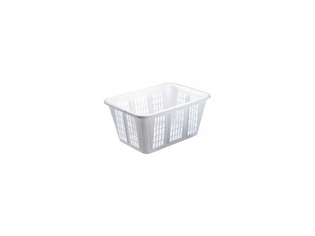 Laundry Basket, White