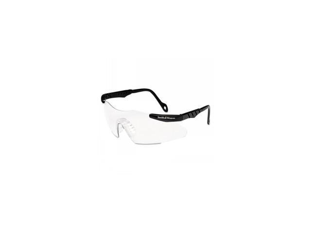 C-Mag 3G Sfty Glasses Poly Bla Frame Cle 1