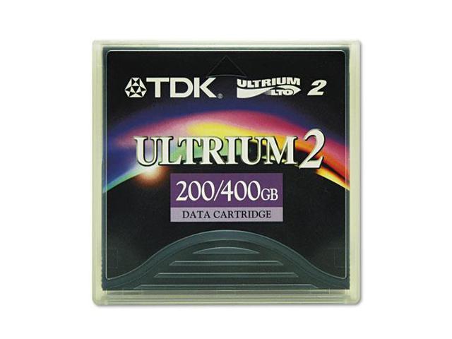 "1/2"" Ultrium LTO-2 Cartridge, 1998ft, 200GB Native/400GB Compressed Ca"