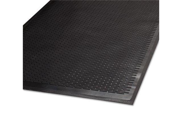 Clean Step Outdoor Rubber Scraper Mat Polypropylene 36 x 60 Black