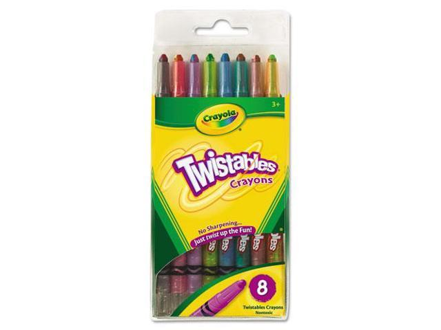 Twistable Crayons 8 Traditional Colors/Set