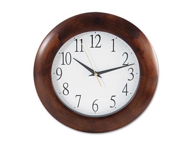 Round Wood Clock, 12-3/4