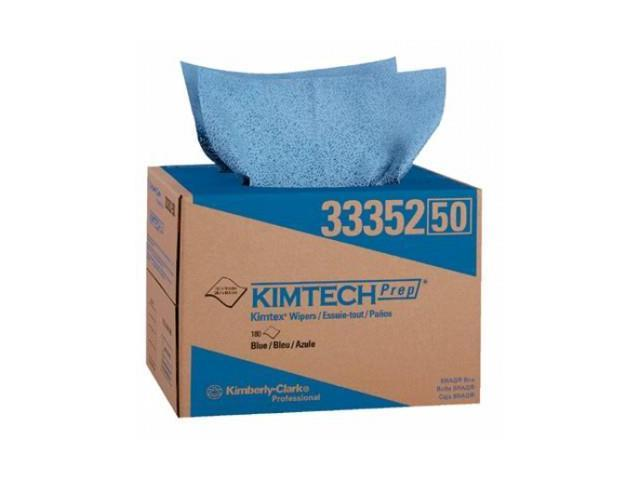 KIMTEX SURFACE PREPARATION TOWELS BLUE 180/BOX