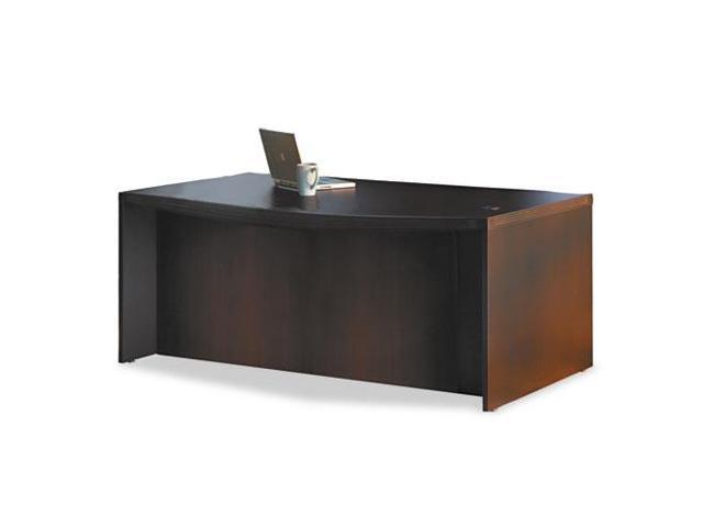 Mayline Aberdeen Series Bowfront Desk Shell