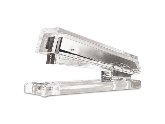Clear Acrylic Standard Stapler, 25-Sheet Capacity, Clear