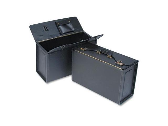 Tufide Catalog Case, Vinyl, 22-1/4 x 8-3/4 x 13-1/2, Black