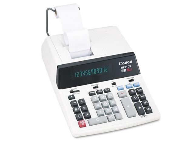 Mp21Dx Two-Color Printing Calculator, Black/Red Print, 3.5 Lines/Sec