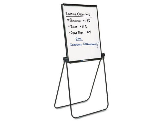 Ultima Presentation Dry Erase Easel, Melamine, 27 x 34, White, Black F