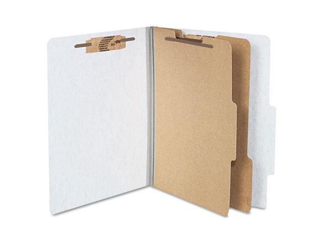 Acco Brands- Inc. ACC15054 Classification Folders- 2in. Exp- Letter- 1 Partition- Mist Gray