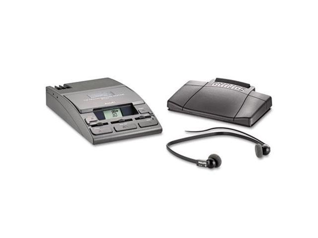 720-T Desktop Analog Mini Cassette Transcriber Dictation System w/Foot