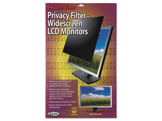 "Secure View Lcd Monitor Privacy Filter For 19"" Widescreen"
