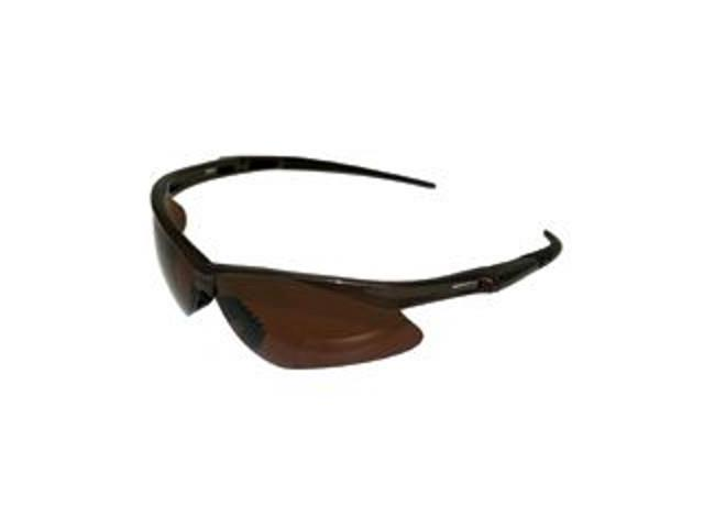 Polarized Safety Glasses, Brown Lens