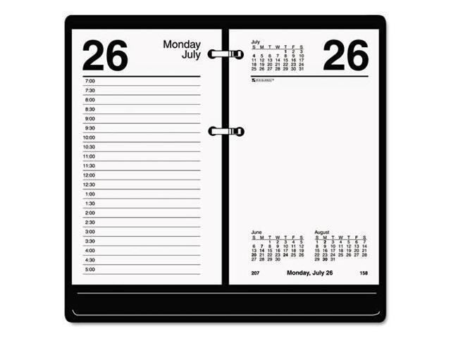 Calendar May Sia : At a glance recycled loose leaf desk calendar refill
