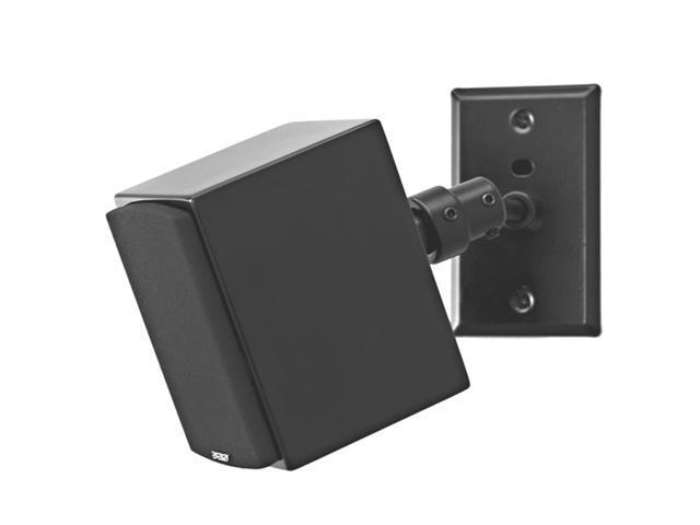 Pinpoint AM20 Electrical Box Speaker Wall Mount - Black Each