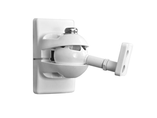 Pinpoint AM30 Universal Speaker Wall Mount - White Each