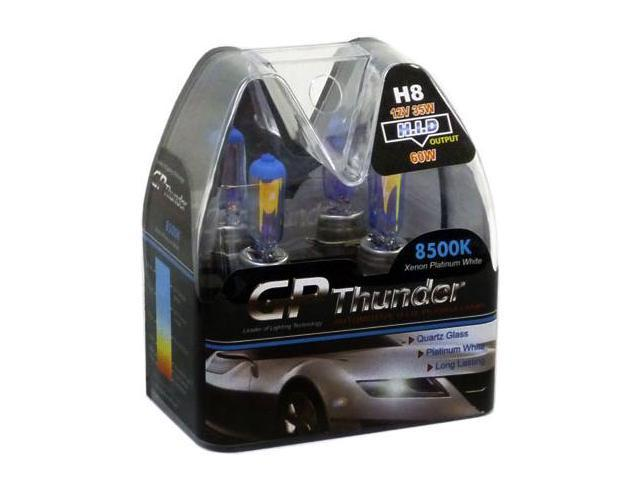 GP Thunder 8500K Platinum White Bulbs Twin-Pack H8 35W