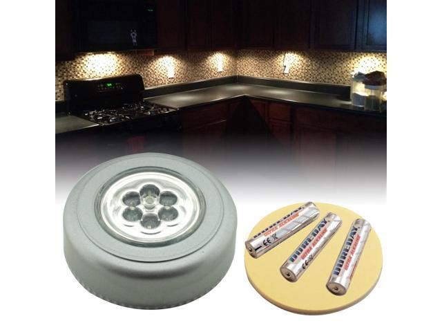 Warm White Wireless Battery Powered Led Recessed