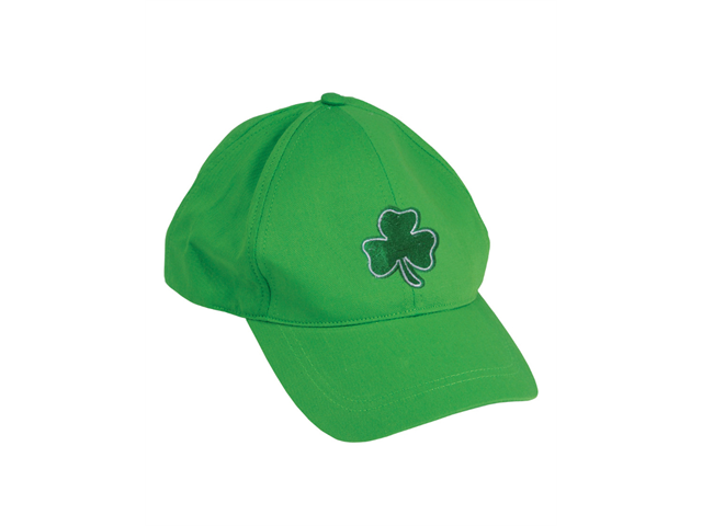 st patricks day green shamrock baseball hat cap