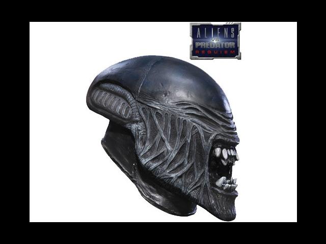 Child AVP Alien Versus Predator 3/4 Vinyl Aliens Mask