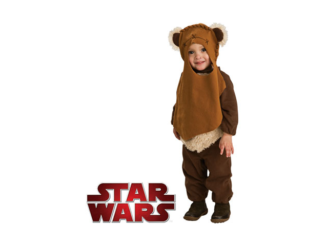 Star Wars Deluxe Baby Ewok E-Wok Costume Toddler 12-24M