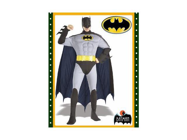 Batman Adults Size Medium Muscle Chest Bat Man Costume