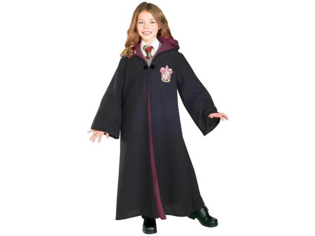 Child Boy's Girls Deluxe Harry Potter Gryffindor Robe Costume Medium 8-10