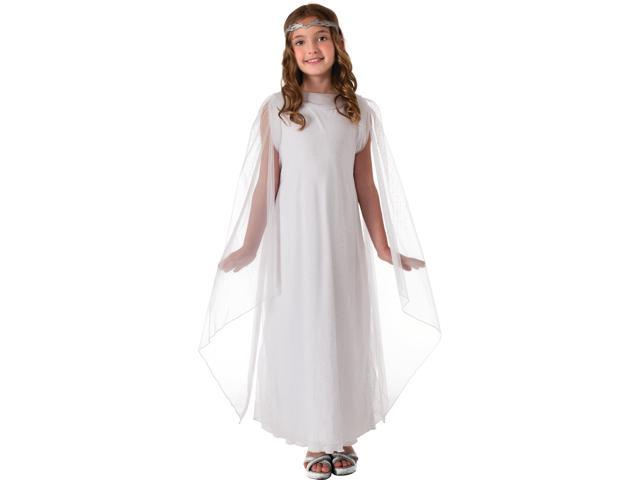 Child Kids Girls Lord of the Rings Hobbit Galadriel Angel Elf Costume Small 4-6