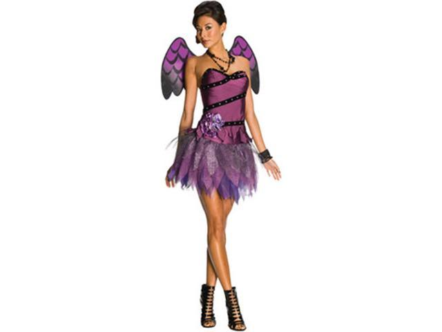 Adult's Large Size 10-12 Heavenly Body Sexy Purple Angel or Fairy Costume