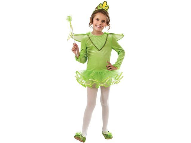 Child's Tinkerbelle Deluxe Pixie Fairy Small 4-6 Costume
