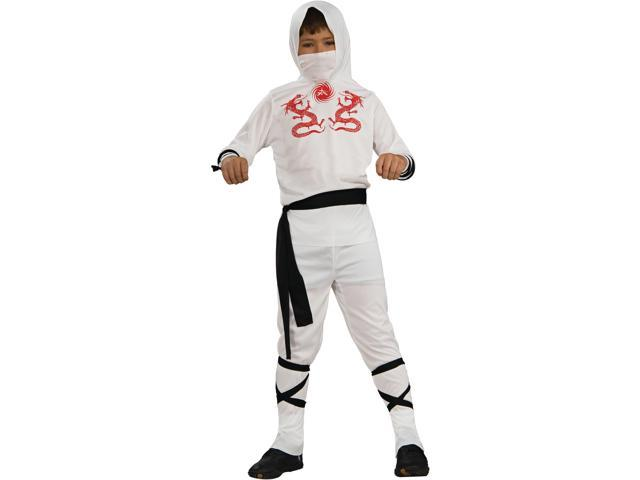 Child White Ninja Costume Rubies 881901