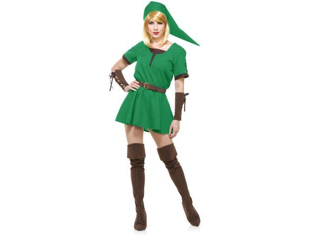 Women's Medium 8-10 Elf Warrior Princess Hobbit Adults Costume