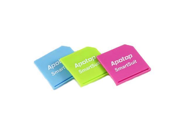 Apotop SmartSuit Slim SD Card Drive for Apple MacBook Air/Pro, 3 Color Set