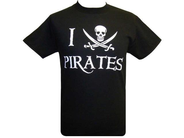 "I ""Heart"" Pirates T-Shirt - S"