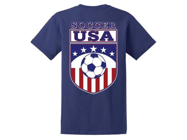 USA Logo Soccer T-Shirt