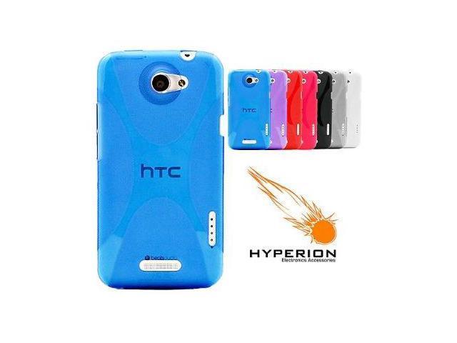 Hyperion HTC One X Matte Xtreme TPU Case Blue