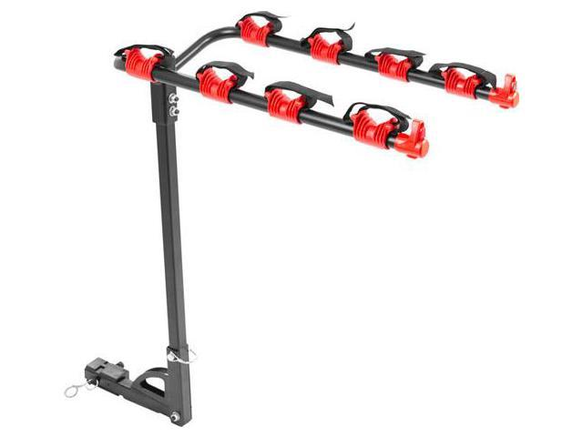 4-Bike Hitch Mounted 1-1/4