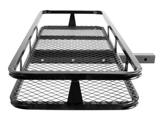 """48"""" Basket Style Bumper Cargo Hitch Carrier with a 500 lb. Capacity"""
