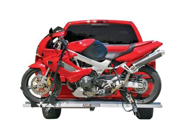 Hitch Mounted Sport Bike & Motorcycle Carrier with a 600 lb. Capacity and 72