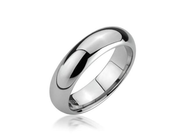 Bling Jewelry Comfort Fit Unisex Tungsten Wedding Band 5mm